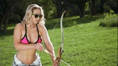 Sydney Maler Thechive Camp Archery Gifs Bikini