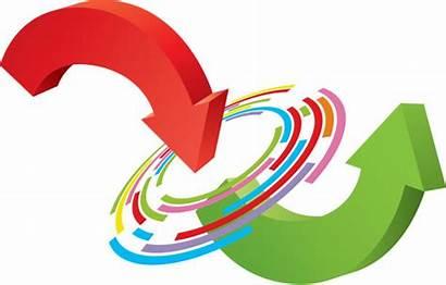 Transformation Change Clip Changing Arrow Illustrations Turnaround