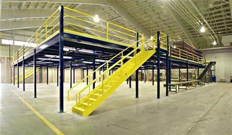 Warehouse Mezzanine Systems & Platforms