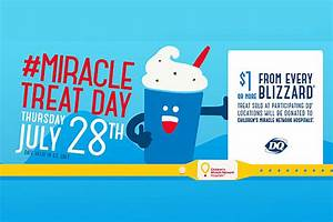 This Thursday, Buy A Dairy Queen Blizzard And Help Local ...
