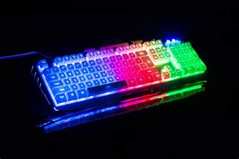 how to light up keyboard yuesong pk 780 backlit wired computer keyboard light