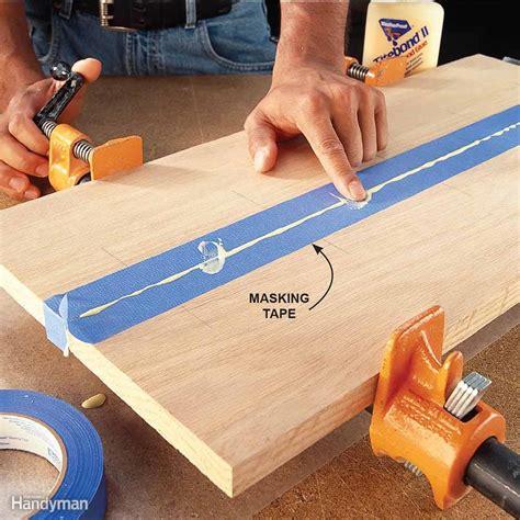 glue wood  family handyman