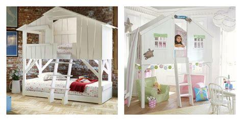 cabane chambre fille le lit cabane fille idées en images