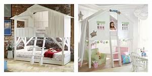 Lit Cabane Pour Enfant : lit cabane enfant idees accueil design et mobilier ~ Teatrodelosmanantiales.com Idées de Décoration