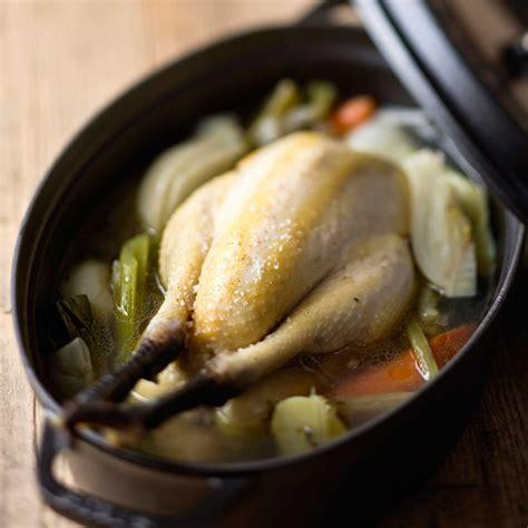 recette de cuisine sur 3 poule au pot recette sur cuisine actuelle