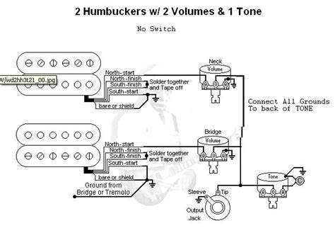 switchless 2 pickups 2 vol 1 tone series switching doable fender stratocaster guitar