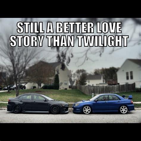 evo subaru meme loboloco87 tofuwreckfilms twilight meme evo wrx