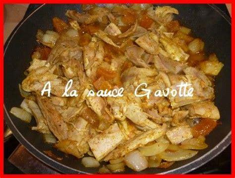 restes de poulet 224 l orientale a la sauce gavotte cuisine et sant 233