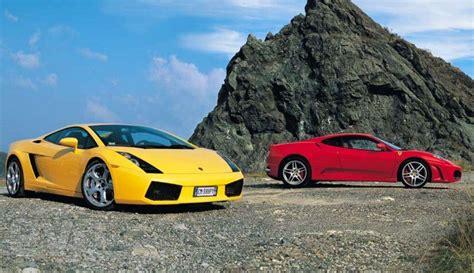 F430 Vs Lamborghini Gallardo by F430 Vs Lamborghini Gallardo Autos Y Motos
