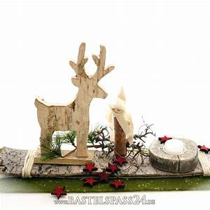 Engel Aus Holz Selber Machen : tischdeko weihnachten mit birkenrinde birkenhirsch ~ Lizthompson.info Haus und Dekorationen