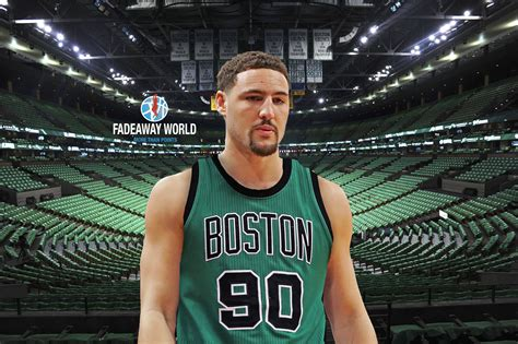 celtics     acquire klay thompson fadeaway