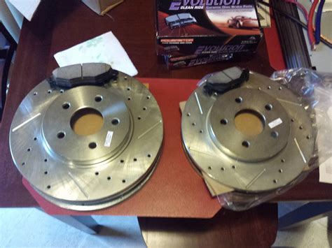 X Type Slotted And Crossdrilled Rotors