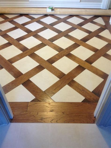 brazos valley floor and design wood and tile basket weave pattern bathroom redo ideas