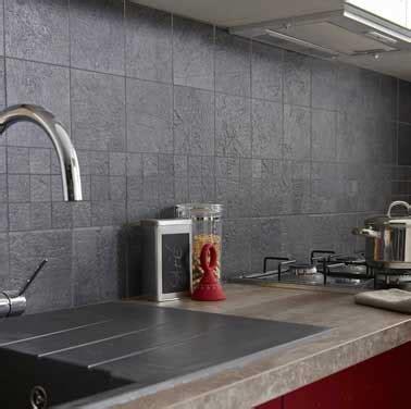 carrelage murale cuisine carrelage mural couleur gris anthracite leroy merlin