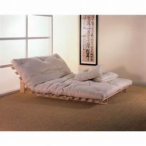 Canapé 2 Places Lit : structure banquette lit futon pliage bz ~ Premium-room.com Idées de Décoration