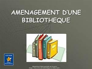 Aménagement Bibliothèque : am nagement d 39 une biblioth que ~ Carolinahurricanesstore.com Idées de Décoration