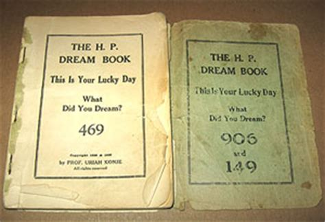 A Dream Book Of Lottery Numbers  Auction Finds