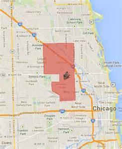 Wicker Park Chicago Map