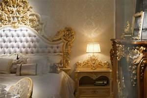 Lit Baroque Blanc : 1001 id es magnifiques pour votre chambre baroque ~ Teatrodelosmanantiales.com Idées de Décoration