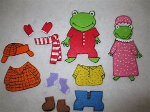 froggy gets dressed felt set froggy books activities With froggy gets dressed template
