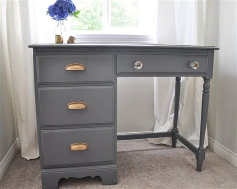 Ideas For Small Bedrooms - an old school desk gets a whole new look suburble