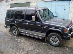 1990 Mitsubishi Pajero Pictures  2 5l   Diesel  Automatic