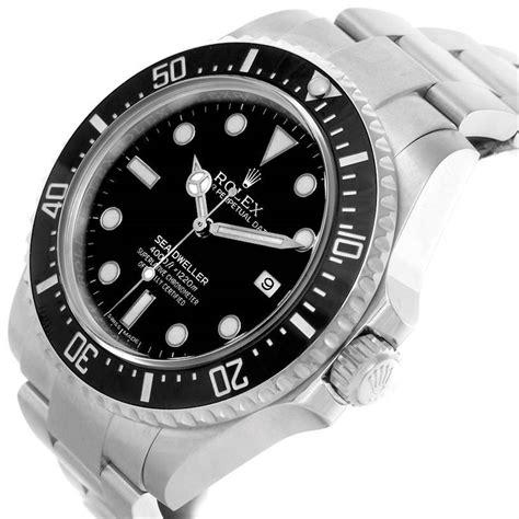 Rolex Oyster Perpetual Seadweller 4000 Steel Mens Watch ...