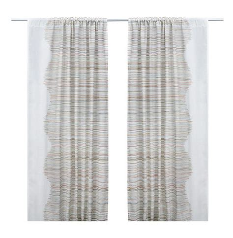ikea malin trad curtains stripes lines midcentury tr 197 d