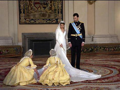 Crown Prince Felipe Of Spain And Bride Crown Princess