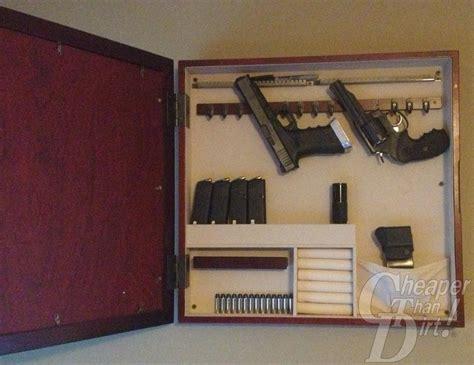 diy hidden gun cabinet plans myideasbedroom com
