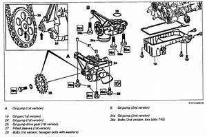 Need Slk 230 Mercedes Benz Oil Pump Removal Schematic