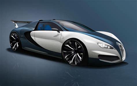 Bugatti Veyron Concept 2014 Front Profile  Front Seat Driver