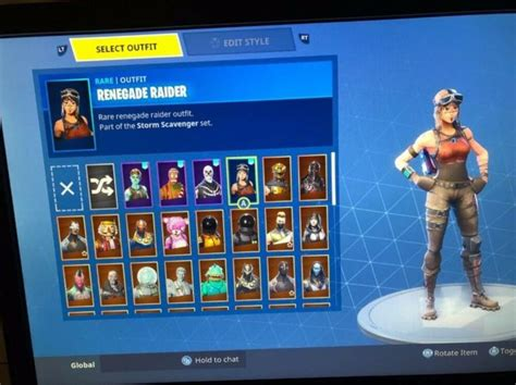 stacked og renegade raider account   xbox account