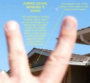 Aiming Signal Mirrors Is Hard