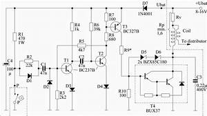 Electronic Car Ignition Circuit  Automotive Car And