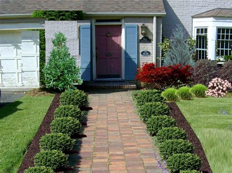 Simple Landscape Designs For Front Yards Photos Front