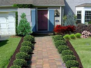 simple landscape designs for front yards cheap curb With front yard landscaping ideas for small homes