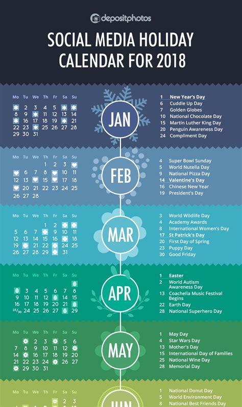 social media holidays     infographic idea