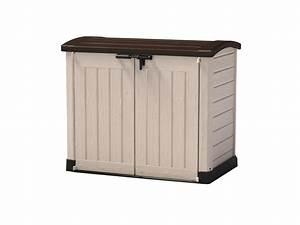 Cache Poubelle Brico Depot : coffre rangement plastique 1200 l ~ Dailycaller-alerts.com Idées de Décoration