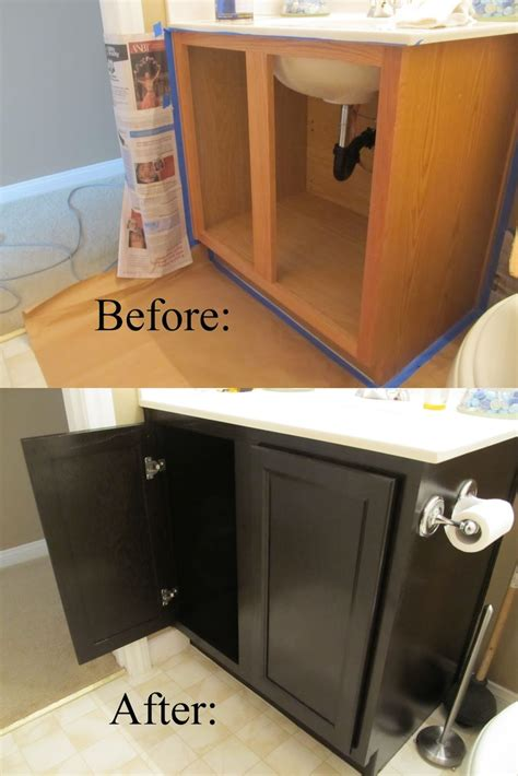 diy gel stain kitchen cabinets top 10 best diy bathroom projects top inspired 8749