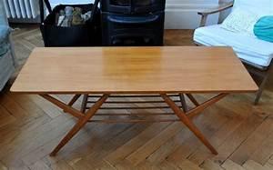 Table Basse Année 50 : table basse scandinave des ann es 50 solveig vintage galerie ~ Teatrodelosmanantiales.com Idées de Décoration