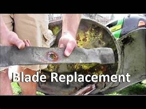 How To Replace Cutting Blades On John Deere La100 Riding