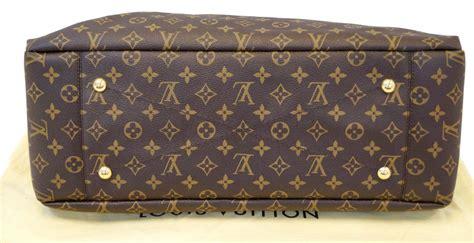 louis vuitton monogram artsy gm tote hobo handbag limited