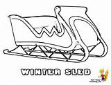 Coloring Winter Sled Snow Hockey Sheet Colouring Cold Boys Yescoloring Olympics Bone Playing sketch template