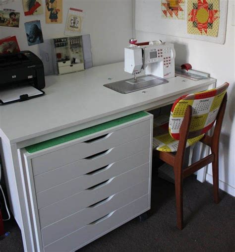 sewing machine desk ideas 78 images about sewing tables on pinterest sewing