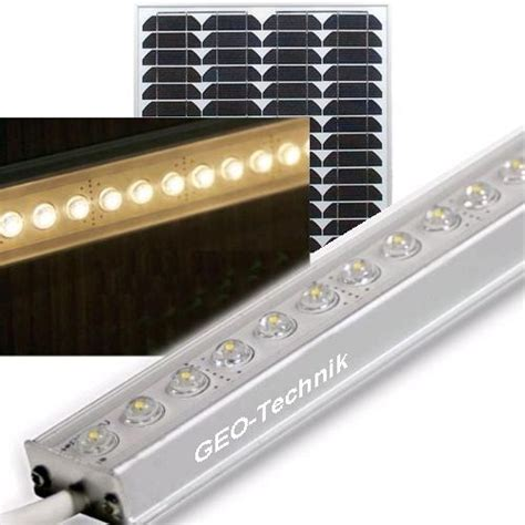 Solar Led Beleuchtung solar led garagenbeleuchtung carportbeleuchtung