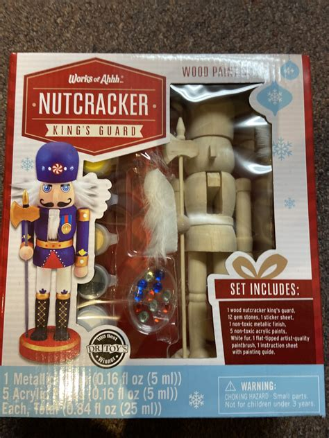 """It's controller can't attack with more than three creatures during their next combat phase. Paint your own Nutcracker """"King's Guard"""" - Ohio Valley - Shop Where I Live"""