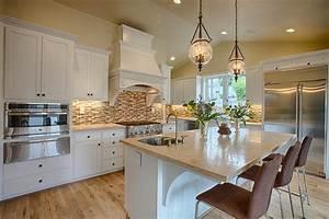 belles cuisines grande cuisine moderne granite ma belle With les plus belles cuisines modernes