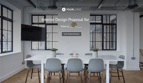 Free Interior Design Proposal Template  Better Proposals