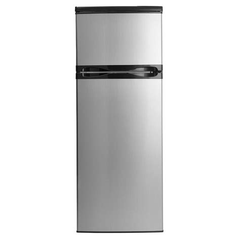 Apartment Size Refrigerator With Freezer by Danby Designer 7 3 Cu Ft Apartment Size Top Freezer